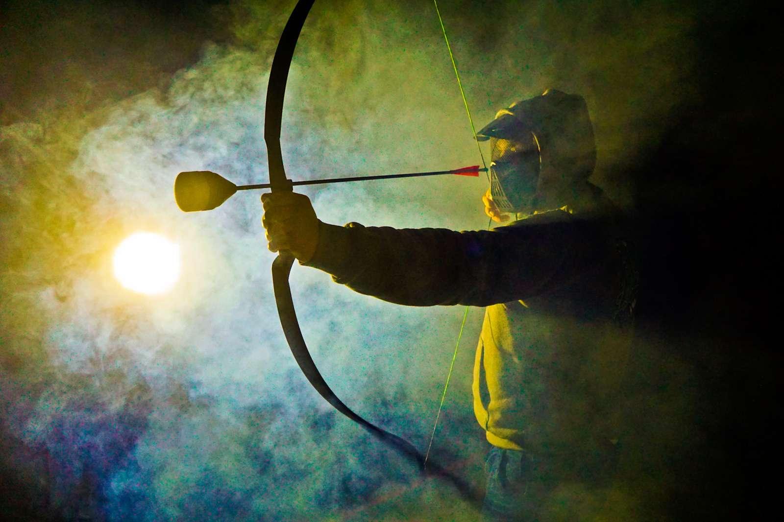 Archery Game, Archery Tag, Paintball łuczniczy, najlepsza rozrywka